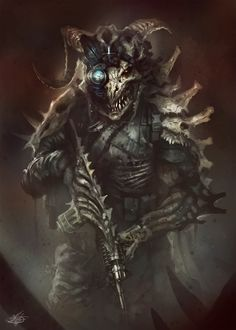 Skull Soldier by mlappas.deviantart.com on @deviantART