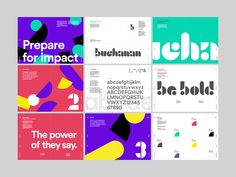Buchanan Brand Identity on Behance