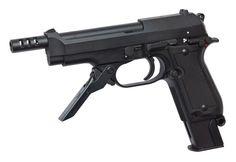 BERETTA M93R II, GAS