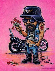 A David Mann Favorite Motorcycle Posters, Motorcycle Art, Bike Art, Vintage Valentines, Happy Valentines Day, Art Harley Davidson, Art Moto, David Mann Art, Valentine Poster