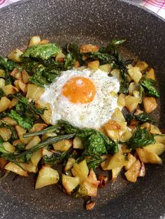 Yummy Veggie, Veggie Recipes, Yummy Food, Tasty, Meals Without Meat, Crispy Potatoes, Convenience Food, I Love Food, Soul Food