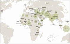 Religioscope: Islam: mapping the global Muslim population