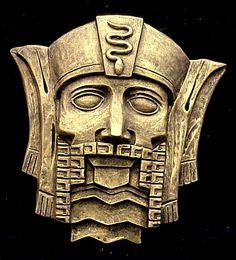 aztec mask template - google image result for