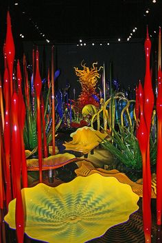 Art by Dale Chihuly