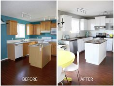 Bright Kitchen Remodel – DIY version You move into a new house and want to change a few things. You have 3 young kids, and your husband is working long days. So you wait a while a…