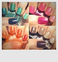 ...where fashion meets quirky and mayhem.: Do-It-Yourself: Ombre Nails