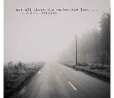Not All Those Who Wander Print