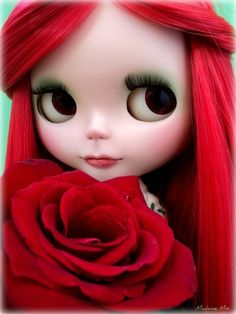 Por amor..Blythe.. by Michelle Mix, Flickr.