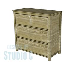 Woodworking For Kids Free DIY Woodworking Plans to Build a Plain Dresser When I first started woodworking, the first two projects I took on were dressers for my kids. I was (and still am) so proud of those pieces becau. Kids Woodworking Projects, Learn Woodworking, Popular Woodworking, Woodworking Furniture, Diy Wood Projects, Woodworking Plans, Furniture Plans, Diy Furniture, Building Furniture