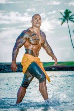 Samoan man traditional tattoo #polynesian #tattoo