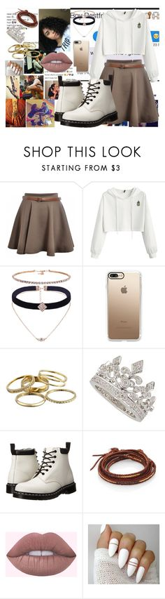 """""""THERE GOES MY BABY...I F*CKING MISS YOU"""" by ducky0524 on Polyvore featuring Casetify, Kendra Scott, Dr. Martens, Chan Luu and xO Design"""