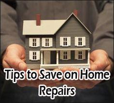 Tips to Save on Home Repairs http://madamedeals.com/save-on-home-repairs/ #inspireothers