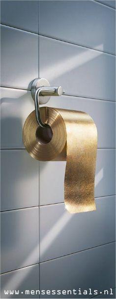 22-karaats gouden wc-rol: Overbodige luxe of niet?