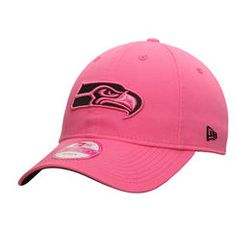 077d20544 Seattle Seahawks New Era Women s Preferred Pick 9TWENTY Adjustable Hat -  Pink Seattle Seahawks Hat