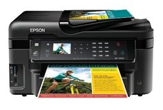 Epson WorkForce WF-3520 Wireless All-in-One Color Inkjet Printer, Copier, Scanner, 2-Sided Duplex, ADF, Fax. Prints from Tablet/Smartphone. AirPrint Compatible (C11CC33201) by Epson. $119.99. From the Manufacturer                WorkForce WF-3520 All-in-One Printer Print | Copy | Scan | Fax | Ethernet | Wi-Fi WHY BUY? Enlarge  Engineered for Business The WorkForce WF-3520 is the hassle-free all-in-one that brings your business the World's Fastest print speeds, plus auto...