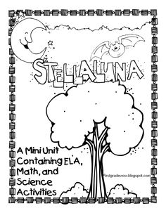 First Grade Wow: Stellaluna Saves the Day! (and the week!) - free bat unit tied in with Stella Luna