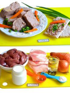 Печеночный паштет из куриной печени - рецепт с фото