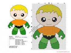 http://www.my-cross-stitch-patterns.com/baby_aquaman_free_superheroes_cross_stitch_patterns_50x69.html #DMC #mouline #cross stitch #σταυροβελονιά #etamin
