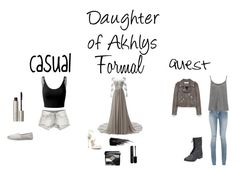 """A Daughter of Akhlys"" by a-fangirl-mrc ❤ liked on Polyvore featuring Sans Souci, Doublju, TOMS, Ilia, BCBGMAXAZRIA, Urban Decay, Marc Jacobs, Christian Dior, Yves Saint Laurent and Current/Elliott"