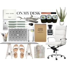"""""""On My Desk"""" by fransiska-larasati on Polyvore"""