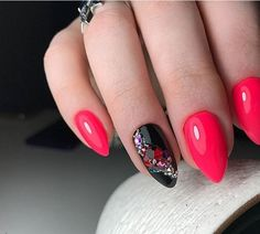 +77 BLACK AND WHITE NAILS PHOTOS 2018