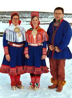 The traditional Sami costume