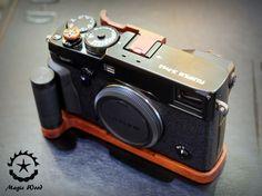 Fuji Xpro2,Full set wood accessory camera,Wood Grip+Wood soft release+Wood Thumb up. by MagicWoodHandMade on Etsy