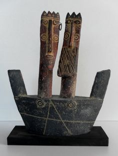 King and Queen in Boat, John Maltby, The Barn Gallery, Southwell, Notts - 2012 EXHIBITIONS PROGRAMME