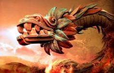 Quetzalcoatl was een god van de Azteken de Azteken dachten dat Quetzalcoatl ooit zal terugkomen toevallig leek Cortés sprekend op deze god. Vandaar dat Cortés met veel eerbied werd ontvangen.
