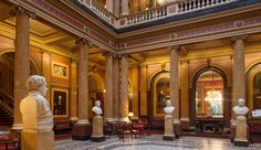 """The whole idea of """"clubs"""" makes my toes curl, but you can't deny that the interior of the Reform Club looks great.  Courtesy of Zumtobel"""