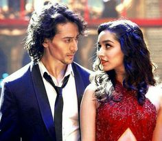 Tiger Shroff and Shraddha Kapoor Baaghi Bollywood Couples, Bollywood Stars, Shraddha Kapoor Baaghi, Let's Talk About Love, Box Office Collection, Neha Kakkar, Prettiest Actresses, Tiger Shroff, Martial Artist