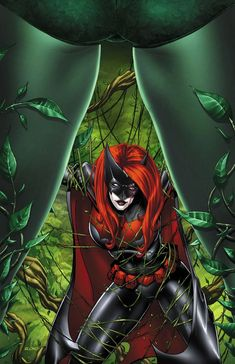 Batwoman and Poison Ivy by ~BlondTheColorist