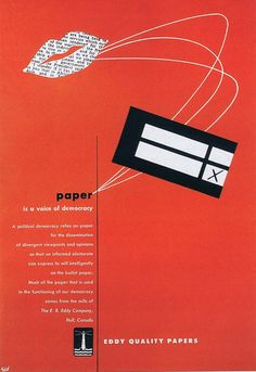 newest 7b497 13311 1940s ad for Eddy Papers - Get early popart - Canadian Advertising Museum  Populaarikulttuuri, 1940s