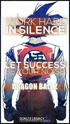 Watch Dragon Ball Super Online subbed and dubbed HD quality. A website for Dragon Ball Z fans. Dragon Ball Z, Dragon Bird, Dbz Quotes, Motivational Quotes, Inspirational Quotes, Z Wallpaper, Work Hard In Silence, Super Saiyan, Anime Manga