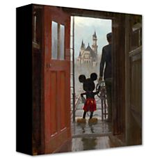 Walt Disney and Mickey Mouse Giclée U$185