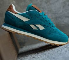 """Reebok Classic Leather Suede """"Teal Gem"""""""