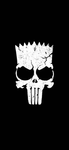Bart Simpsons Skull wallpaper by puggaard - - Free on ZEDGE™ Crazy Wallpaper, Batman Wallpaper, Cartoon Wallpaper, Simpsons Tattoo, Simpsons Art, Simpson Wallpaper Iphone, Cellphone Wallpaper, Skull Wallpaper Iphone, Bart Tattoo