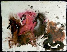 Animalarium: Bestiarium Wilkonia - The Horses  artist Józef Wilkon