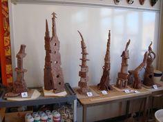 Totem Towers | East Chapel Hill High Ceramics