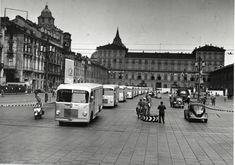 Piazza Castello - Anni '50
