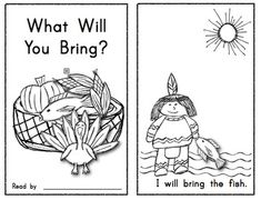What Will You Bring?  Thanksgiving Emergent Reader for young readers. $