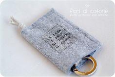 felt keyholder - portachiavi in feltro
