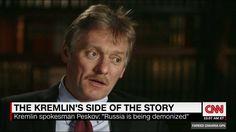 """哈哈,左膠又要出來跟? - """"Russia has been demonized,"""" Kremlin spokesman Dmitry Peskov tells Fareed Zakaria …"""