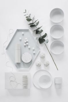 Styling: I like white on white combinations with one piece as interloper because evokes feeling of strength and purity