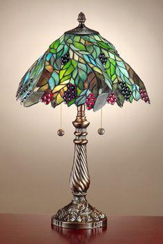 dale tiffany   Dale Tiffany TT100915 Pinot Noir Table Lamp