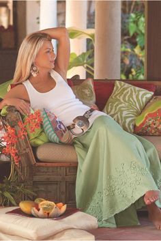 Channel the beauty of the beach with our Bodrum Beach Skirt  - try styling with a wide belt for extra style points.