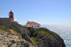 Lighthouse at the Cape of St. Vincent - historical Portugal