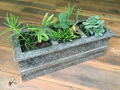 Undeniable Quality in Sustainable Material Wood Planter Box, Wood Planters, Succulent Boxes, Succulents, Old Wood, Fencing, Barns, Planting, Sustainability