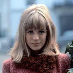 Marianne Faithfull, Photo by Roger Kasparian. Paris, 1965.