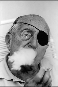 Hollywood, California, 1966 - Fritz Lang. Silent movie director. Photographed by Burt Glinn. S)